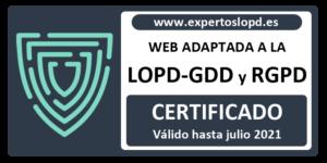 Página Web Certificada